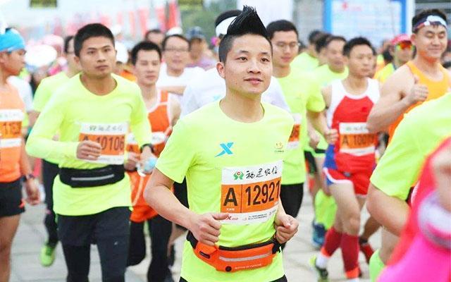 家链医心电图仪:福州马拉松健康跑 人生才是一场长跑