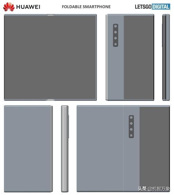 华为公司新一代折叠手机Mate X2曝出 外翘变内折有着120Hz高霸屏