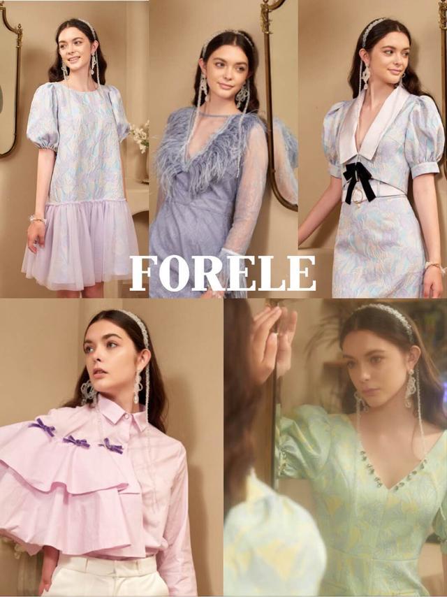 小众设计师品牌FORELE,款式耳目一新