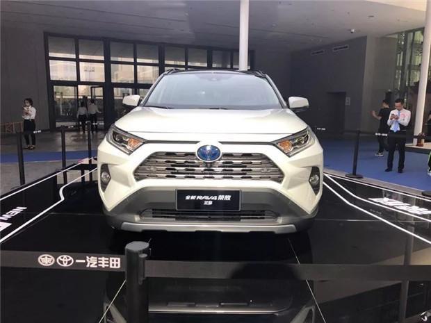 探馆西安车展 一汽丰田参展车型速览