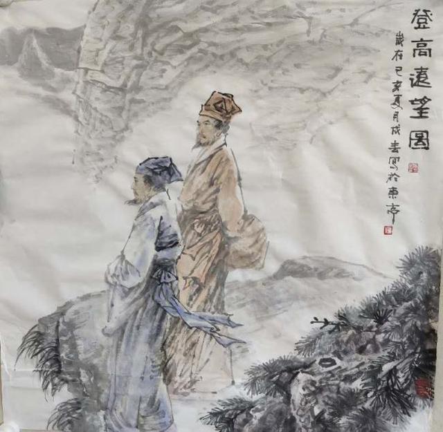 为史立像深阔高远:当代知名画家刘成春印象