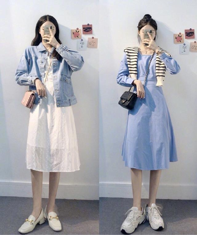 淑女休闲的打扮,无论是夏天还是早秋都能穿,时尚显气质