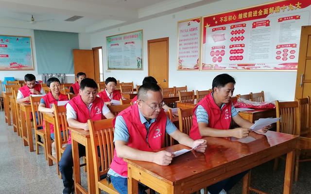 南京高淳固城街道网格志愿者,积极当好文明城市创建的宣传员