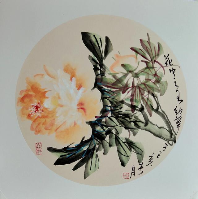 《魅力青海,雪域高原》 画家 李幼华