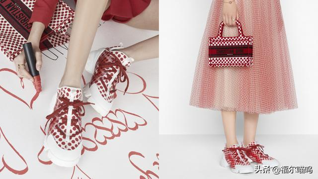 球鞋成为时尚主流,大牌创意不断,井柏然同款、baby同系列波点鞋