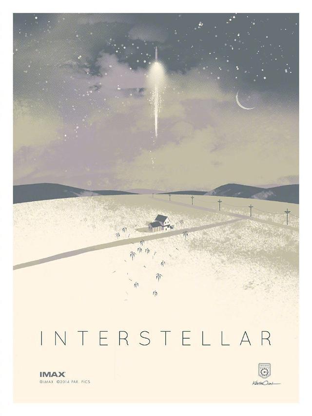 电影《星际穿越》艺术海报