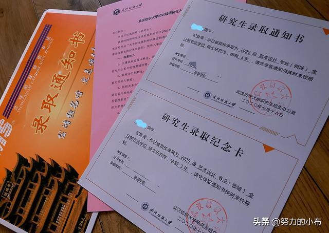2020最全研究生录取通知书合集(五)