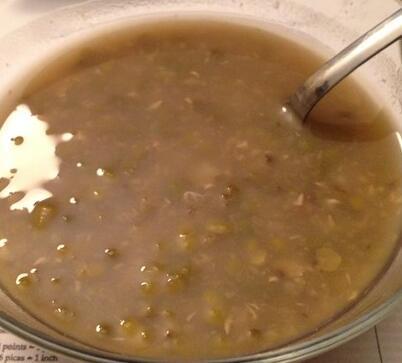怎么煮能把绿豆皮煮掉