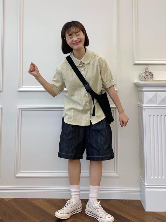 """今夏很火的一条""""爸爸裤""""!清凉又舒适,高矮胖瘦都能穿"""