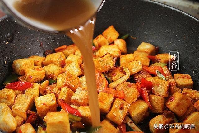 自从豆腐学会这样做,给肉也不换,再多的米饭都不够,实在太香了