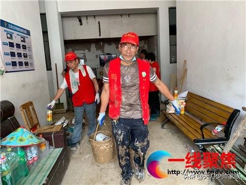 四天了,永康科普志愿者依然支援在灾区第一线