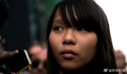 """港媒:""""港独""""分子周庭被捕,涉嫌违反香港国安法"""