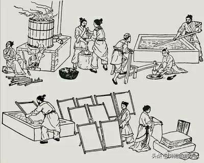 中国造纸术对世界有什么影响?各国造纸又有什么不同?