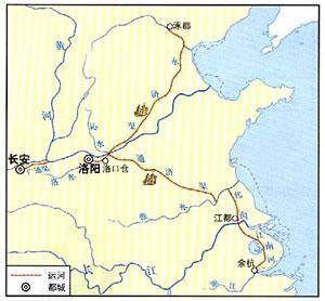 辉煌的隋唐大运河:一半在地上一半在地下怎么讲?