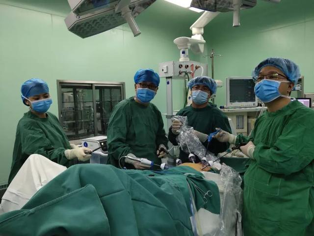蓟州区人民医院普外科成功开展腹腔镜直肠癌超低位切除保肛手术