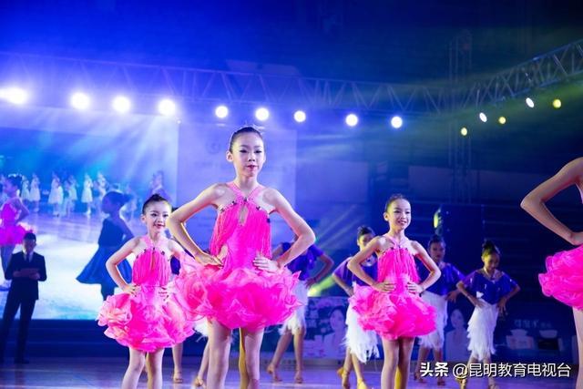 云南省第十届学校体育舞蹈锦标赛总决赛决出最强舞者