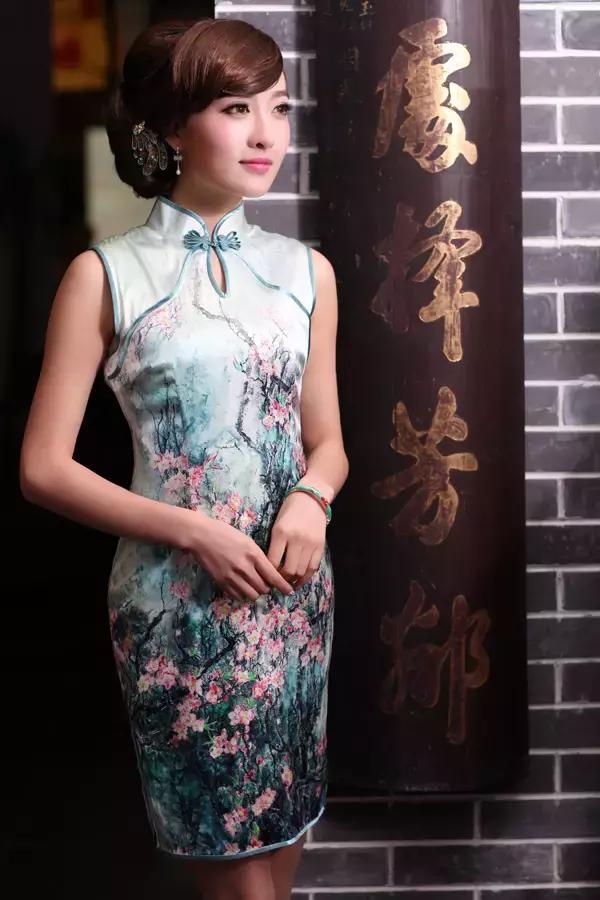 穿上旗袍的女人到底有多美-第4张图片-IT新视野
