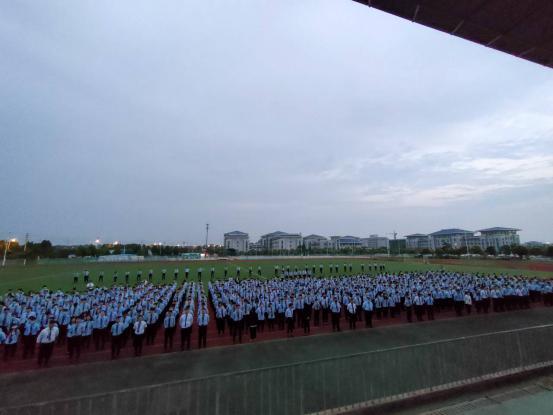 坚定目标,不断奋斗!宿迁科技学校举行6月度目标誓师大会