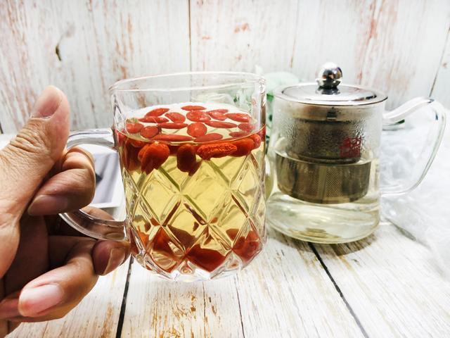 茶叶与枸杞