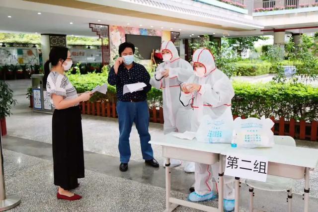 复学在即,深圳市中医肛肠医院为首批返校师生开展核酸采样