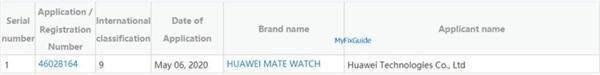 华为Mate Watch或将搭载鸿蒙OS!与华为Mate40一起发布