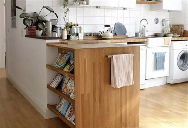 厨房电饭锅微波炉没处放显凌乱?学会在橱柜留凹槽,美观又整齐