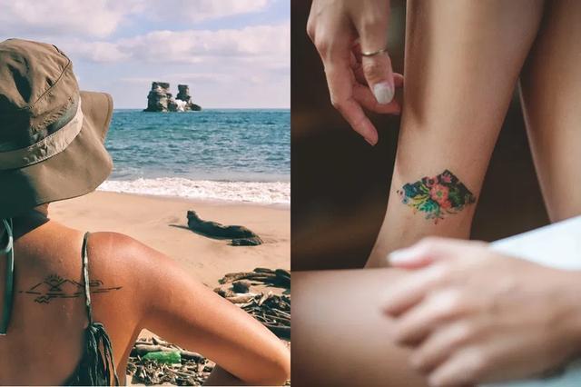 我在身上纹了一座山,让纹身看上去又酷又特别