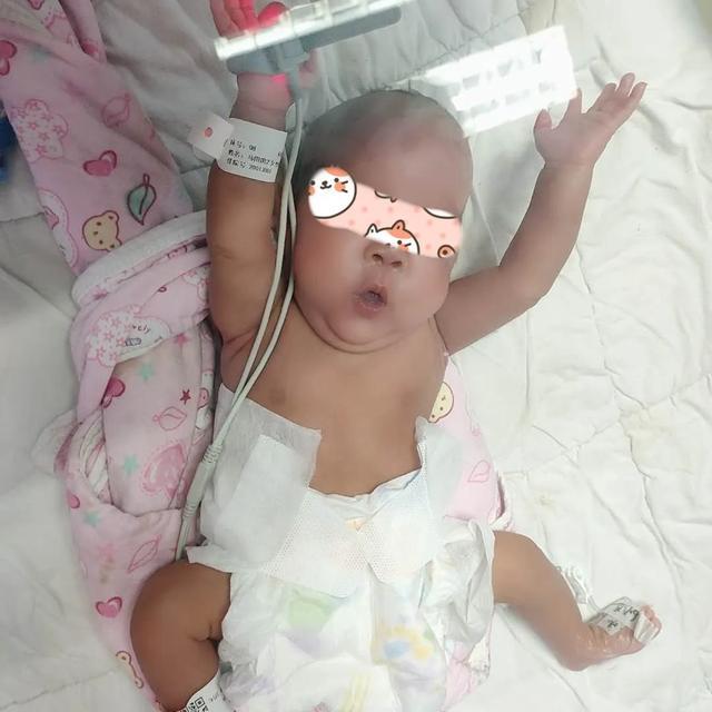 72 天的精心护理下,800g 的早产宝宝终于回家了