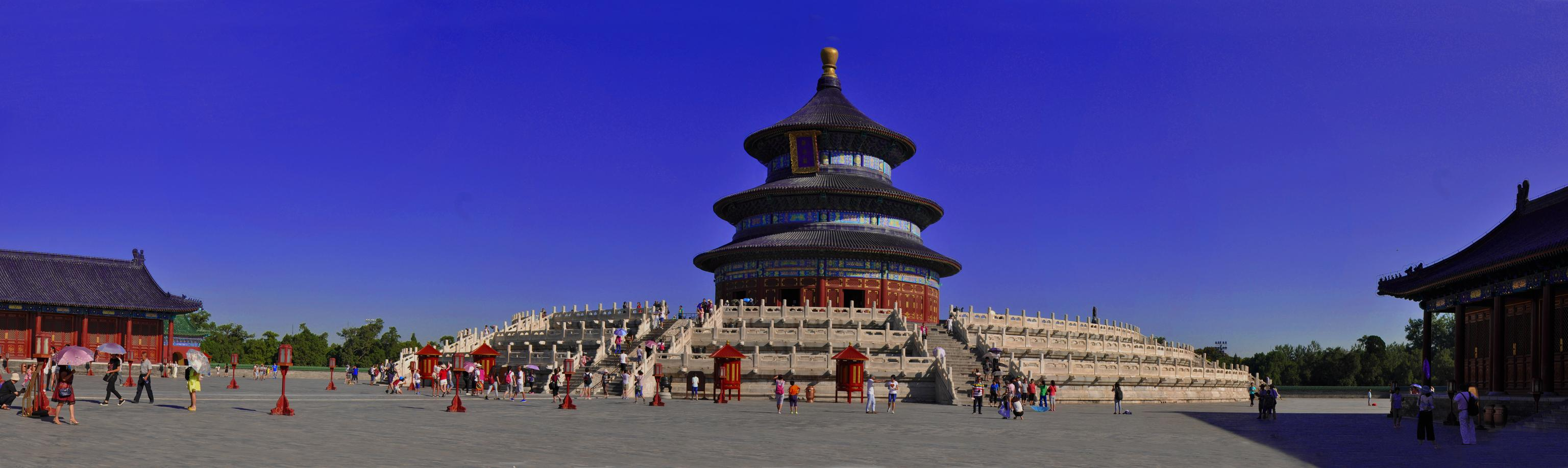 天坛祈年殿中间有4根高192米地面直径为12米的龙井柱。4根龙井柱的占地面积1共是多少