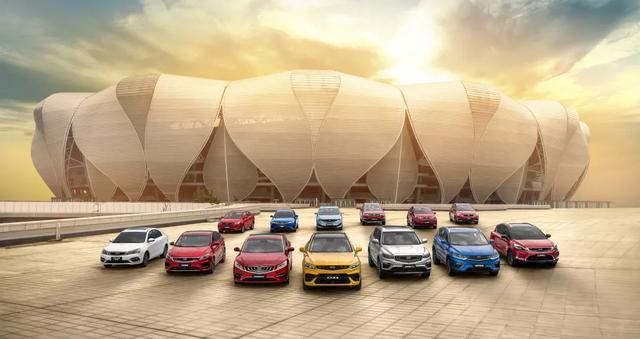 吉利汽车1月销量突破11万,终端销量市占率创新高!