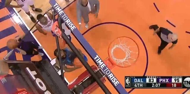篮球砸到篮板上沿算犯规吗