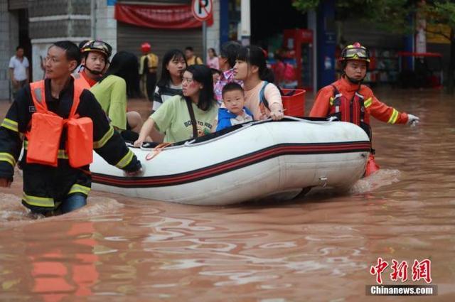 南方洪涝灾害受灾人次超1200万 中国启动国家Ⅳ级救灾应急响应