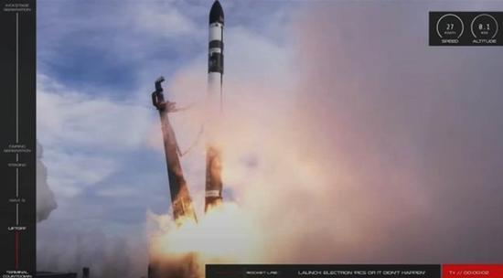 美国私人火箭公司发射失败 所载7颗卫星全部丢失