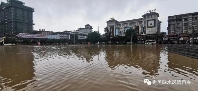 【关注】融江河融水段超警戒水位 全县部门联动干群同心 抗洪救灾有序开展