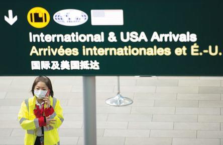 加拿大移民部许可 边境局却说不 华女来加被禁登机