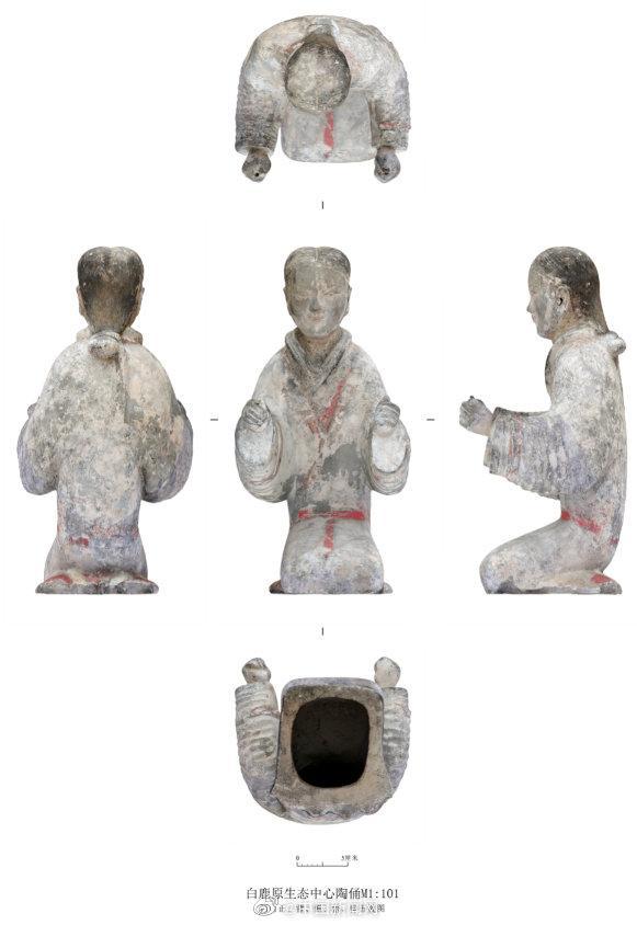 西安白鹿原发现西汉大型墓葬 出土2200多枚玉衣片