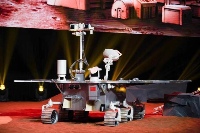 """中国首辆火星车""""颜值""""如何?方形脑袋 有4个""""大翅膀"""""""