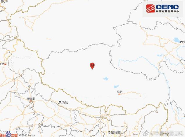 今晨西藏两次地震,最高6.6级,为我国今年年度最大地震
