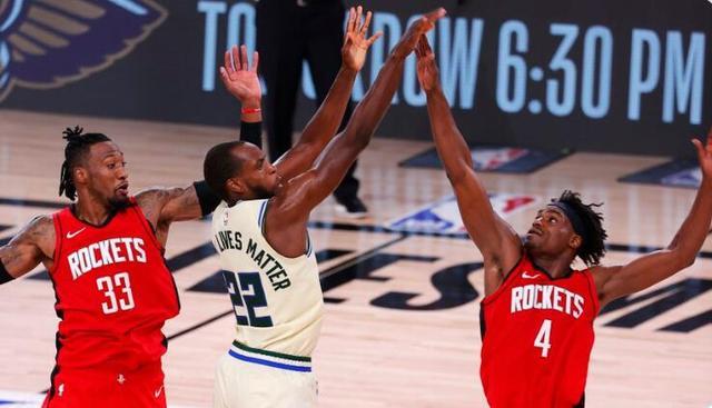 雄鹿输火箭断了NBA一项177连胜纪录