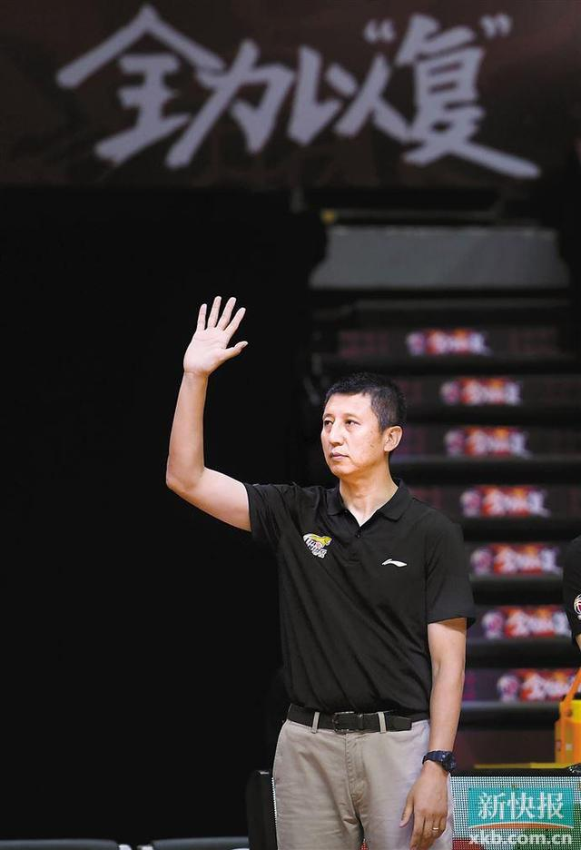 广州男篮迎新帅 郭士强正式上任