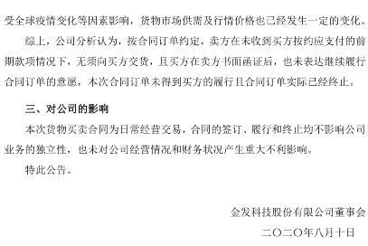 近10亿美元大单KN95口罩出口美国合同终止!金发科技:因买方未履行合同要求