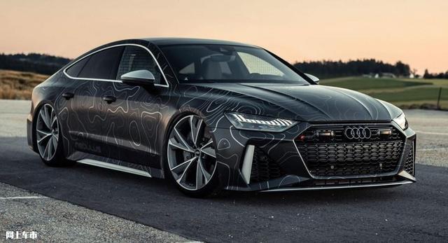 奥迪RS 7推改装版车型,4.0T动力大涨,3.5s内破百,外观再升级