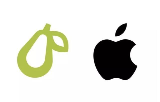苹果起诉一家5人公司:因它的梨子logo和苹果商标有点像
