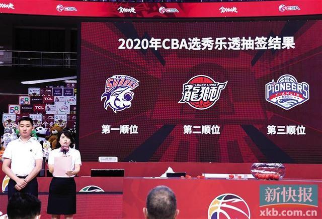 2020 CBA选秀大会下周举行 广州队获榜眼签