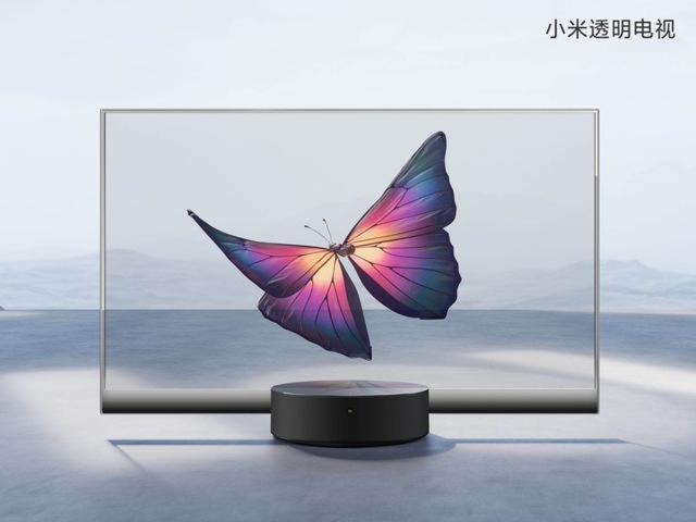 快看 | 小米发布量产透明电视,55寸售价49999元