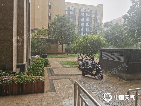 雨已进京!朝阳等局地现对流性降雨 主体云团正在路上