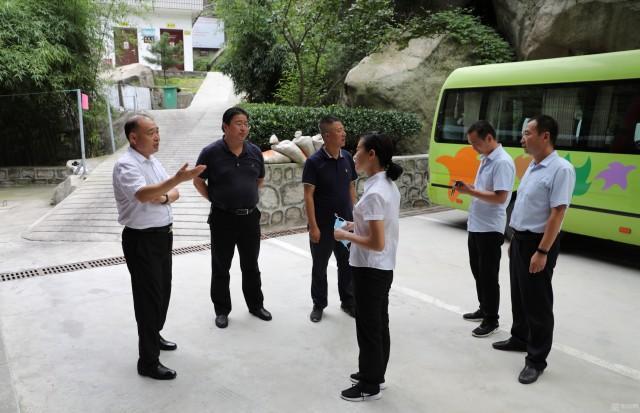 华山景区全力以赴抓防汛 多措并举确保人员安全