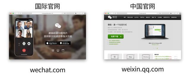 腾讯强调WeChat与微信的区别-第1张图片-IT新视野