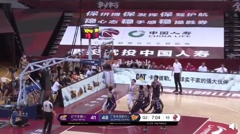 辽宁队逆转广东队1-1扳平 赵继伟关键三分郭艾伦连得8分