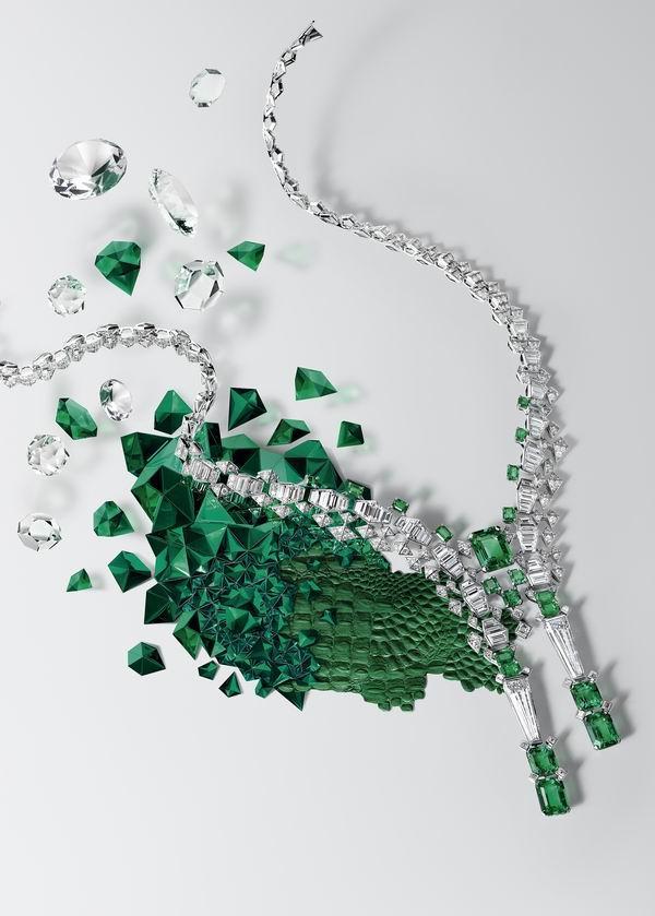 采撷云朵、叶片和羽毛,谱写这首高级珠宝的自然诗篇